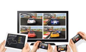 Real Racing 2-HT Wireless Splitscreen multiplayer